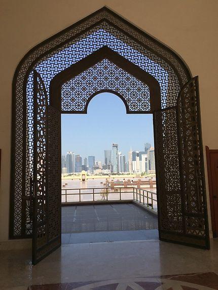 Doha depuis la grande mosquée