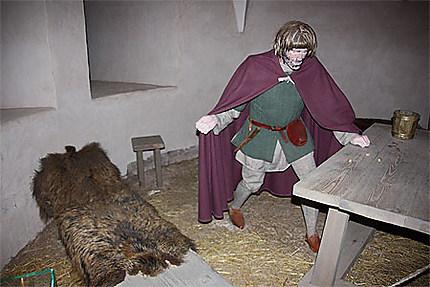 Reconstitution des oubliettes du château