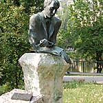 Statue du poète Kosztolanyi