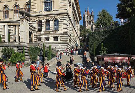 Cortège de Gardes du Pape