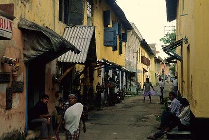 Le quartier juif de Cochin