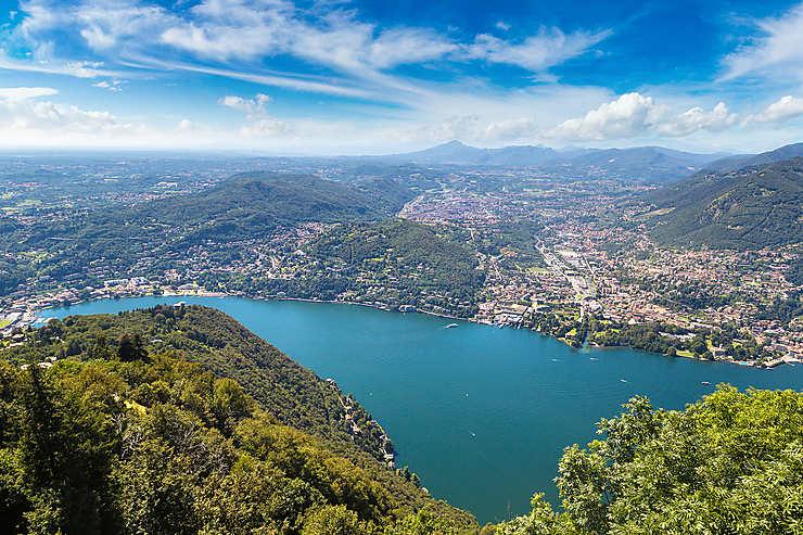 Côme et les lacs italiens (Italie)