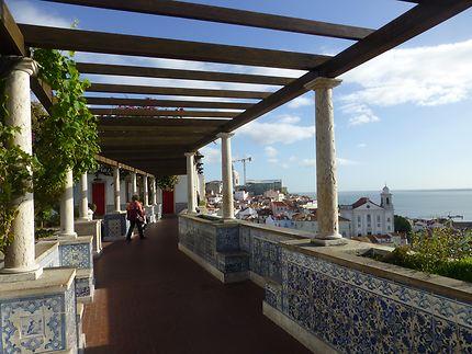 Belvédère ouvert, Lisbonne