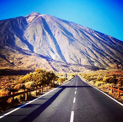 En route pour le Teide...