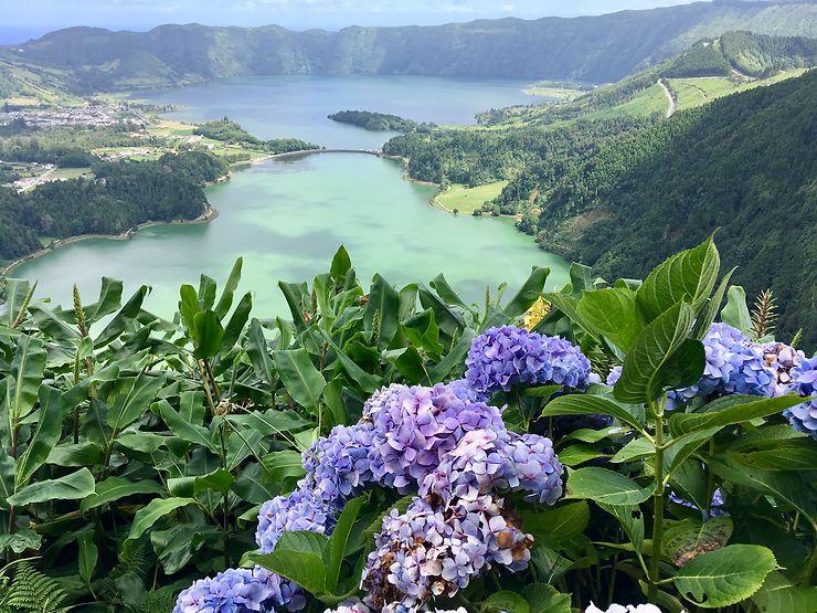 Lagoa Azul et Lagoa Verde, Açores