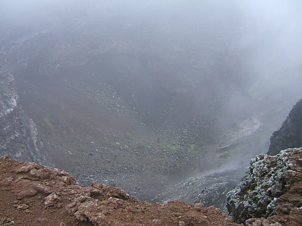 Cratère du Vésuve