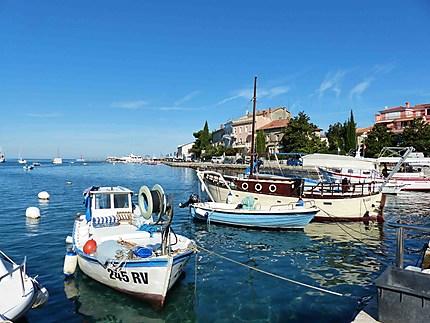 Bord de mer à Rovinj