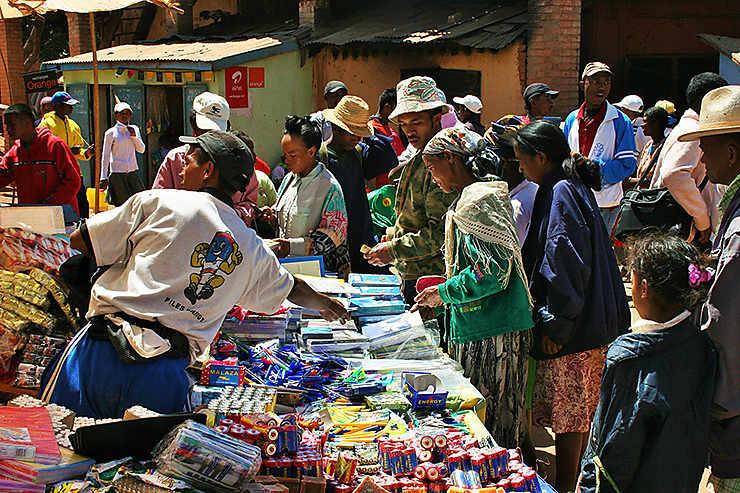 Marché d'Ambilobe, Madagascar