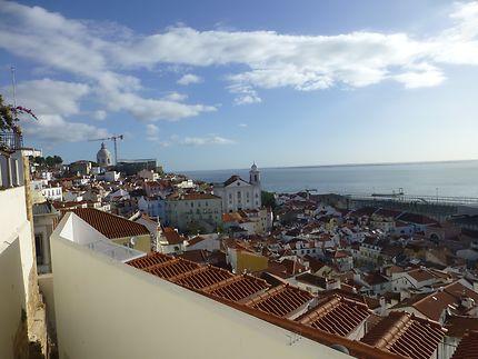 L'Alfama en pente douce, Lisbonne