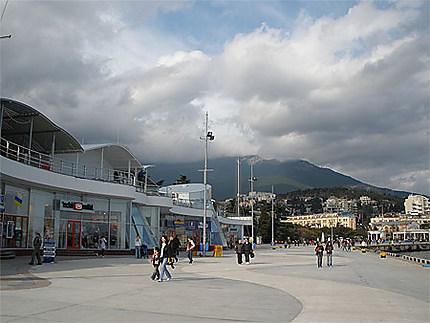 Le quai de Yalta