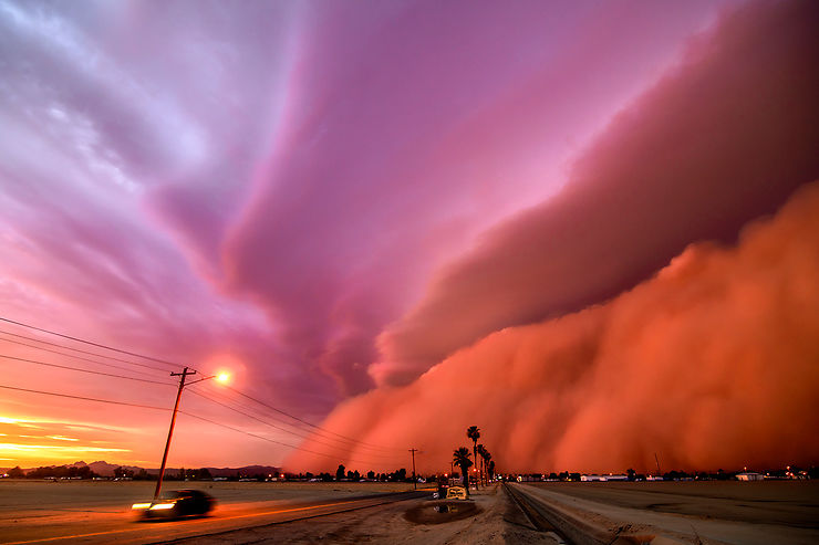Tempête de sable, Arizona