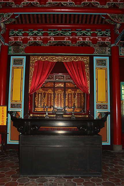 Une des salles du Temple de Confucius