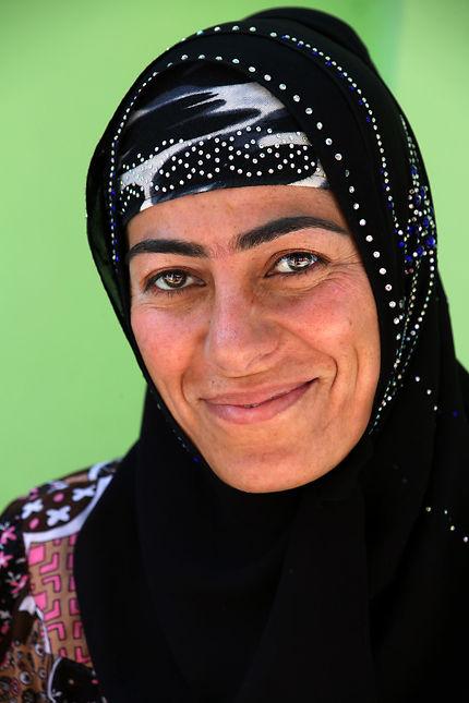 Portrait d'une dame de Doushanbé, Tajikistan