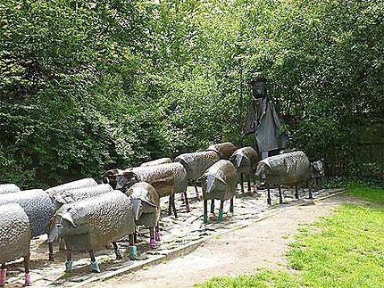 Têtes de moutons