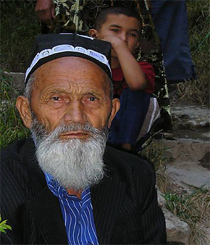 Homme ouzbek