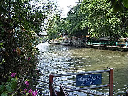 Khlong au nord de Jim Thompson's House