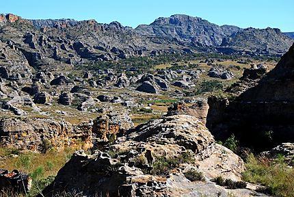 Paysage de rochers - Madagascar