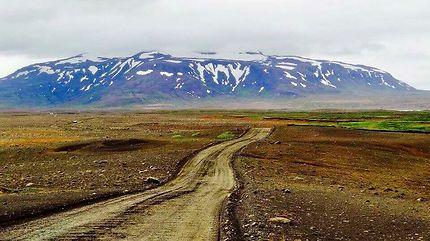 En route pour le centre de l'Islande