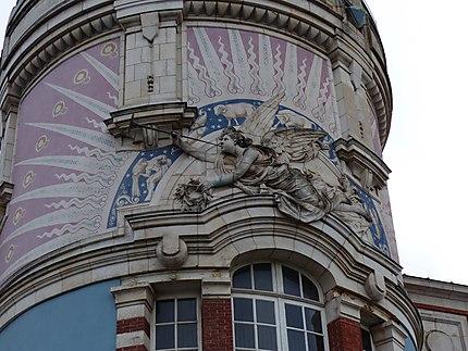 "Detail de la tour ""lu"""