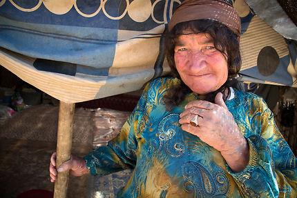 Madina, nomade Qashqai en Iran