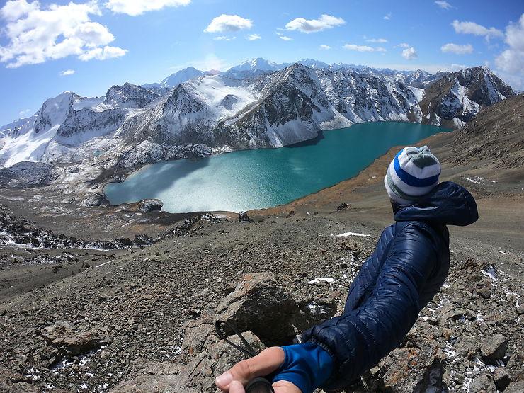 Lac Ala-Kul, Kirghizistan