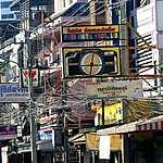 Façades de la rue Pattayatai