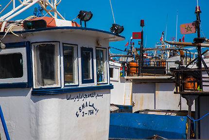 Le port de pêche de Tanger