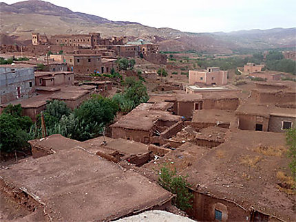 Le village de Telouet et la kasbah du Glaoui