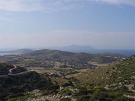 Paysage d'Amorgos