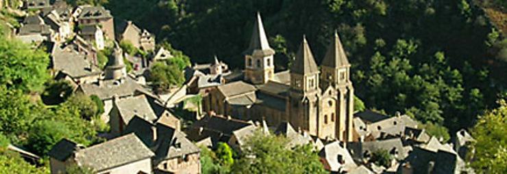 En Aveyron, de Rodez à Conques