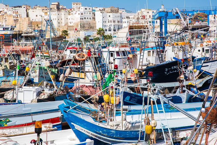 Port de pêche de Tanger