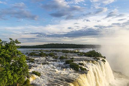 Above waterfalls of iguaçu