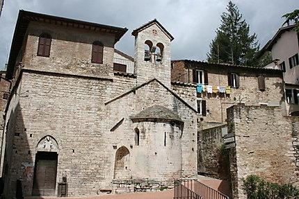 Pérouse, ville médiévale