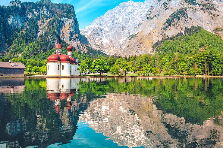 Route allemande des Alpes : du lac de Constance à Berchtesgaden