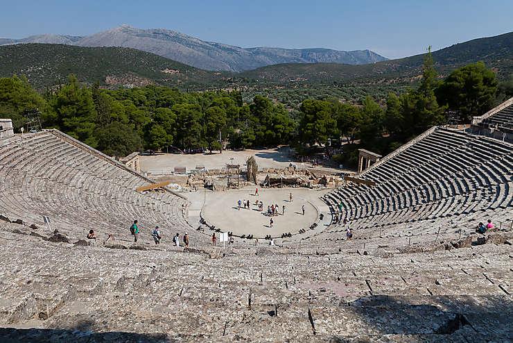Epidaure et le Péloponnèse (Grèce)