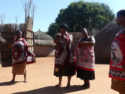 Réception chez la princesse Nkhosikati