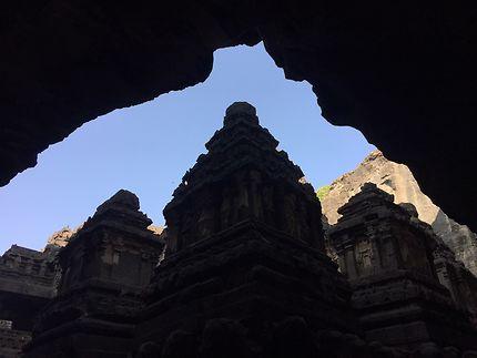 Le Temple de Kailasanatha, Inde