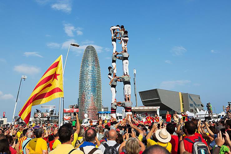 Les castells de Catalogne