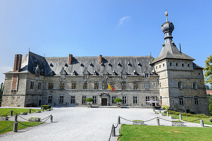 Chimay, son château, sa campagne, ses lacs