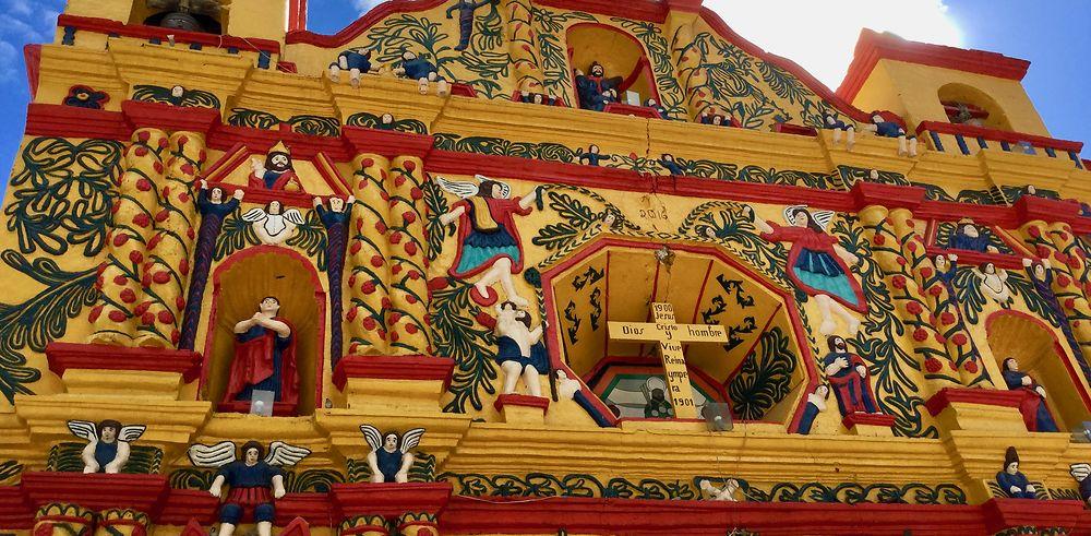 Retour d'une jolie boucle Guatemala-Belize
