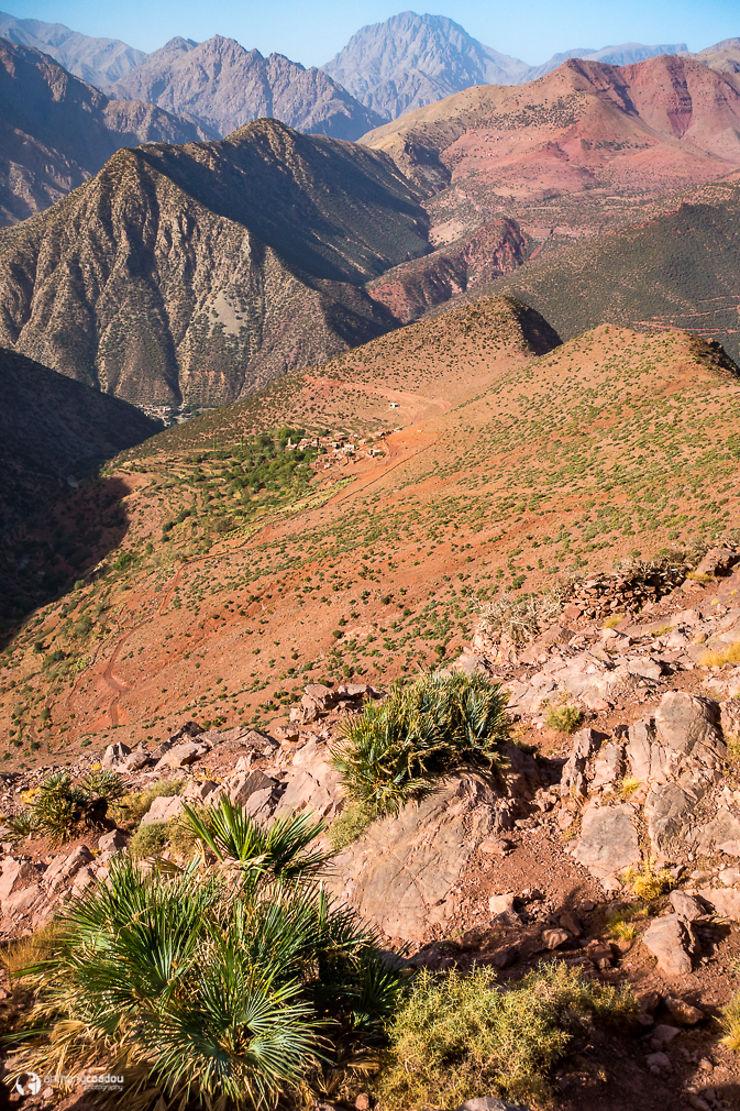 Descente dans la vallée de l'Ourika