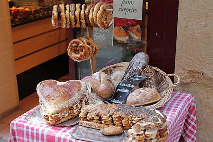 Des bons produits de boulangerie
