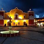 Hacienda Dona Isabel la nuit