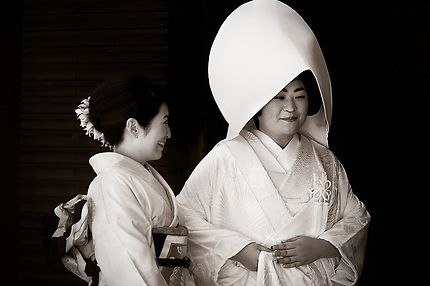 La Mariée et sa Confidente, Meiji-jingu