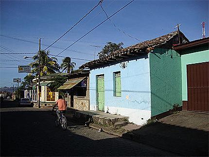 Le charme du petit village de Masatepe