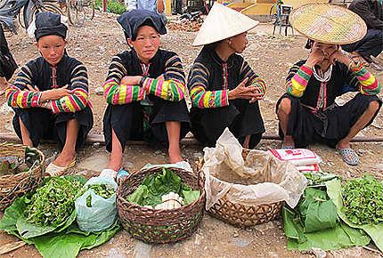 Au marché de Bao Lac