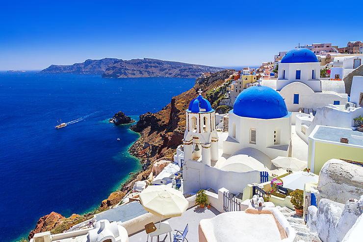 Santorin et les Cyclades (Grèce)