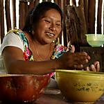Au contact d'une famille Maya