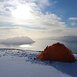 Bivouac au sommet du Rundfjell
