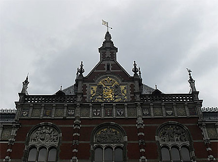 Centraal Station : détail de la façade
